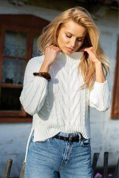 Tricotaje frumoase de damă, Tricot de damă, Pulovere și tricotaje pentru femei! Dress Up, Shirt Dress, Guess Jeans, Sweater Fashion, Smart Casual, Calvin Klein, Girl Outfits, Fall Winter, Marvel