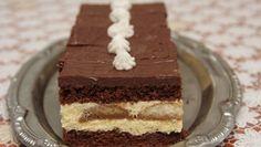 Piškótové rezy No Bake Cake, Vanilla Cake, Nutella, Tiramisu, Deserts, Food And Drink, Sweets, Cookies, Baking