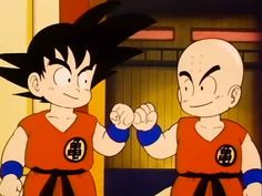 For those who don't know, he's Goku's best friend and one of the most prominent supporting characters on the show.