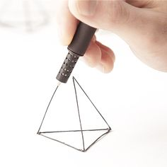 The latest development in the world of printing is the handheld LIX pen. Similar to its predecessor, the the LIX allows one to draw a self Impression 3d, Composition D'image, Innovation, Pen Doodles, Hospital Design, 3d Pen, 3d Drawings, Ways To Communicate, Cool Technology