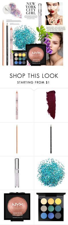 """""""makeup101"""" by tobash21 ❤ liked on Polyvore featuring beauty, KAROLINA, Chantecaille, NYX, MAC Cosmetics and H&M"""