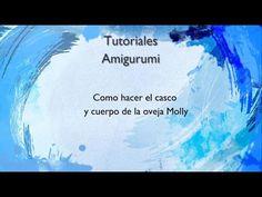 amigurumi paso a paso orejas oveja molly - YouTube
