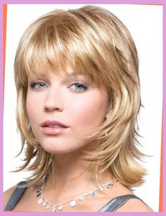 Short To Medium Hairstyles Enchanting Linda Gray Hairstyle Short Layered Straight Human Hair Wigs For