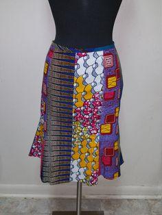 Cire de tissu imprimé / africaine Patchwork par DELKISCOLLECTIONS