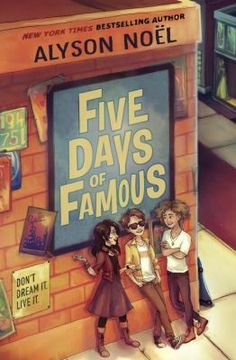 Five days of famous by Alyson Noel. Relates the adventures of eighth-grader Nick Dashaway, whose Christmas request does not go according to plan.