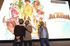 """Avant-première """"Les nouvelles aventures d'Aladin"""" à Kinepolis Mulhouse le 08/09/2015 en présence de Kev Adams - William Lebghil et Arthur Benzaquen"""