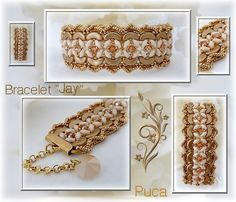 "Crafting Tutorials – Schéma bracelet "" Jay"" Anglais – a unique product by PUCA on DaWanda"