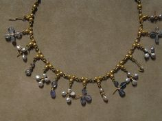 Gold with pearls, sapphires, quartz, and smoky quartz Byzantine Made 500-700, Constantinople