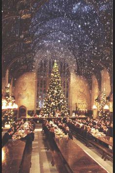 kerst bij Harry potter
