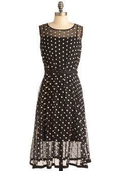 Piano Performance Dress, #ModCloth. Elegant and retro, but the bottom gives it a modern feel.