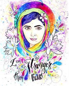 F E L I Z  C U M P L E A N O S  @malalafund  #Inspiration of a #Women ✌️