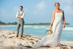 Catalonia Royal Tulum by Naal Wedding Photography. Destination Wedding at the beach.