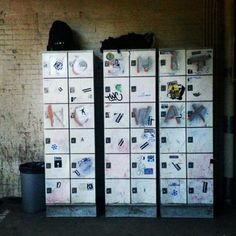 Oldskool lockers