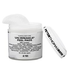 Un-Wrinkle Peel Pads - Peter Thomas Roth | Sephora  ** I use these every day (I cut each pad in half and reuse it several times) **