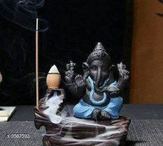 Fountains Trendy Poly Resin Smokey Fog Fountain Gift Material: Poly Resin Size: 5 in  Description: It Has 1 Piece Of Idol With 10 Smoke Fog Fountain Cones Country of Origin: India Sizes Available: Free Size *Proof of Safe Delivery! Click to know on Safety Standards of Delivery Partners- https://ltl.sh/y_nZrAV3  Catalog Rating: ★3.9 (3377)  Catalog Name: Free Gift Navratri Multicolor Elite Trendy Poly Resin Smokey Fog Fountain Gifts Vol 9 CatalogID_500197 C127-SC1614 Code: 271-3587592-