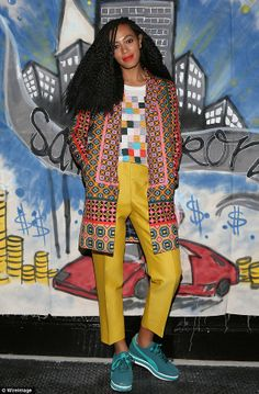 awesome um, how much do we love solange's new look?