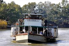 The Riverboats Music Festival is back in 2018 with its signature combination of world class live music and family-friendly vibes, all taking place in the superb natural surrounds of Echuca's Aquatic Reserve. Murray River, Steam Boats, Paddle Boat, Historic Houses, Jazz Festival, Short Break, Victoria Australia, Steam Engine, Steamer