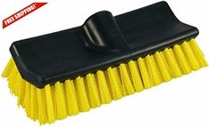 Pro Waterflow Hard Stiff Bristles Boat Wash Bi Level Deck Brush Scrub 10 Inch Unger Scrub Brush Deck Brush Tough Stain