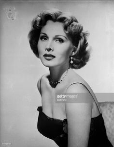 Blonde actress Zsa Zsa Gabor, who wears a $20,000 diamond ring on working days and a $65,000 diamond ring for weekends, can't understand why people think she's 'fabulous.' Zsa Zsa changes the color of her hair on occasion and when she does she hires a painter to change the color of her hair on half a dozen portraits of herself in the mansion she shares with actor George Sanders, her husband.