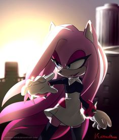 It's a gift for one of the most talented sonic artists I ever seen ;, Your artworks are so amazing, stunning and breathtaking, you're a big inspiratio. Gift - Lady the Hedgehog Hedgehog Art, Shadow The Hedgehog, Sonic The Hedgehog, Sonic Fan Art, Amy Rose, Demon Wolf, Sonic Mania, Sonic And Amy, Sonic Fan Characters