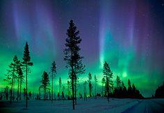 Antony Spencer/Getty Images - Aurora Boralis