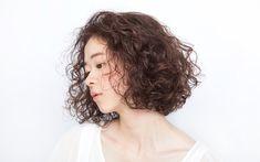 Short Perm, Short Curly Hair, Curly Girl, Wavy Hair, Curly Bob, Curly Hair Styles, Permed Hairstyles, Cool Hairstyles, Wavy Bobs