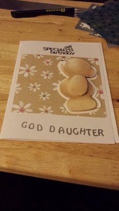 god daughter forever friends card 3
