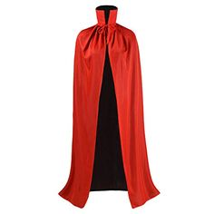 Ourlove Fashion Black and Red Reversible Halloween Christmas Cloak Masquerade Party Cape Costume #Vampire #Halloween #Costumes