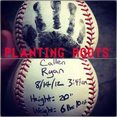 Baseball Hand Print