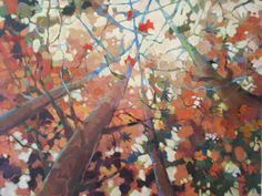 UP!  Original painting by Jean Cauthen