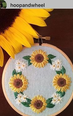 Floral Embroidery Hand Embroidery Designs Embroidery Thread Hand Embroidery Patterns Cross Stitch Embroidery Embroidery Stitches Learning To Embroider Wool Applique Embroidered Flowers Crewel Embroidery Kits, Floral Embroidery Patterns, Hand Embroidery Videos, Embroidery Stitches Tutorial, Embroidery Flowers Pattern, Ribbon Embroidery, Garden Embroidery, Beginner Embroidery, Geometric Embroidery