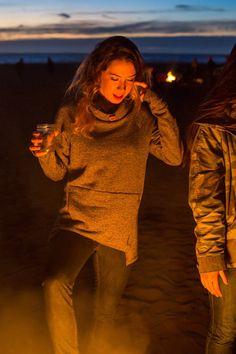 Women's Cowl-Neck Sweatshirt/Tunic