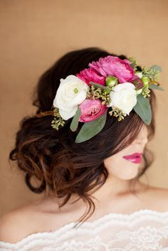 Hair and Make-up by Steph: Fresh Flower Tips