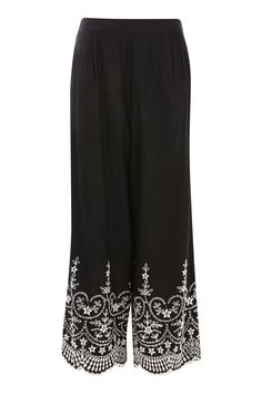 Embroidered Trousers - New In Fashion - New In - Topshop Europe
