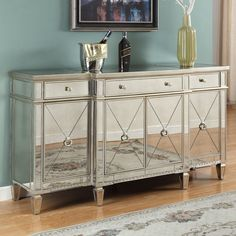 Side Board, Mirrored Furniture, Credenza, Cookware, Living Room Decor, Entrance, Console, Buffet, Choices