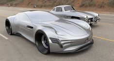 A Stunning Mercedes-Benz Gullwing Study For The 21st Century