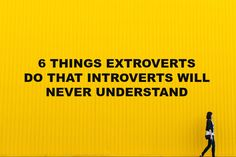 Introverts don't get how extroverts can have so much to say about the most …Some of the comments at the end of this are so reassuring...so I am not alone in my discomfort of house guests, unexpected visitors, phone calls etc. Phew!