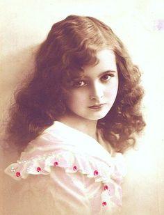 Vintage rppc girl