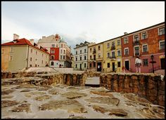Colourful Old town in Lublin My Kind Of Town, Colour Schemes, Old Town, Old World, Poland, Restoration, Study, Romantic, Tours