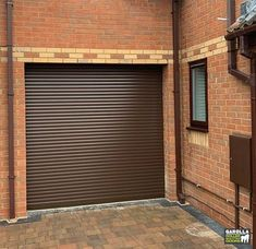 All Inclusive, Fully Installed Roller Shutter Garage Doors From Brown Garage Door, Garage Door Colors, Garage Door Paint, Garage Door Decor, Garage Door Makeover, Garage Door Design, Roller Doors, Roller Shutters, Electric Rollers