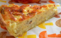 Quiche au chou-fleur et jambon WW, recette d'une savoureuse quiche légère, sans matière grasse, facile et simple à réaliser pour un repas léger.