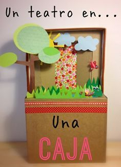 Puppet Theatre, the Ancient Greeks loved theatre. Diy And Crafts, Arts And Crafts, Paper Crafts, School Projects, Projects To Try, Diy For Kids, Crafts For Kids, Paper Puppets, Diy Cardboard