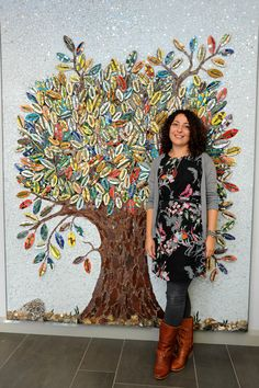 Topps Tiles Mosaic Tree Concetta Perot ... Her site & blog are absolutely wonderful!