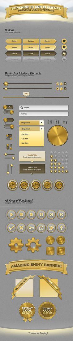 Sunshine UI Premium User Interface for FREE by ramijames.deviantart.com on @deviantART