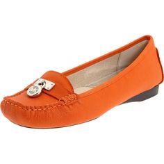 Michael Kors Hamilton loafer in orange