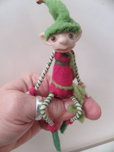 bendy doll with polymer clay - Google Search
