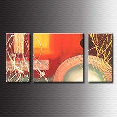 Cuadros Abstractos Modernos Dipticos Tripticos Polipticos - $ 600 ...
