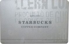 Silver Concept - Prototype Starbucks Card