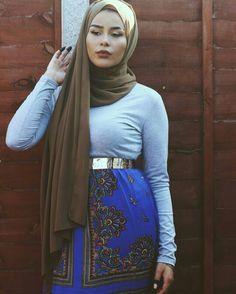 Habiba   lifelongpercussion Queen Fashion, Fashion Wear, Modest Fashion, Unique Fashion, Hijab Fashion, New Fashion, Habiba Da Silva, Hijab Outfit, Hijab Niqab
