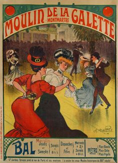 Le Moulin de la Galette, collection du Musée de Montmartre